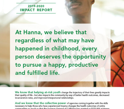 2019 / 2020 Donor Impact Report