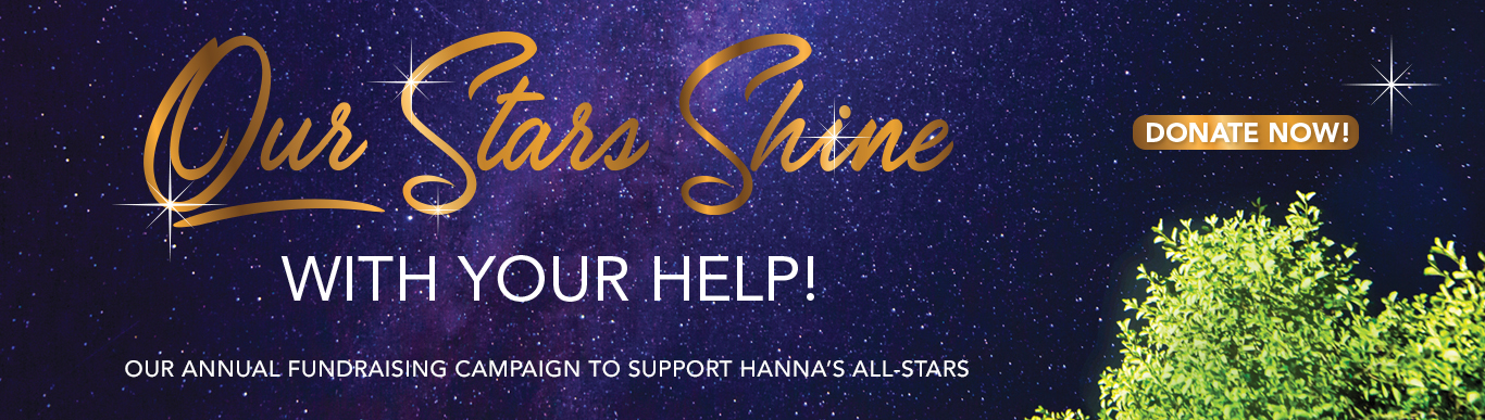 Our Stars Shine with your help